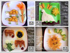 edible fun: Lions, Turtles, Elephants, & Di..
