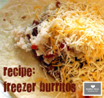 freeze: Freezer Burritos