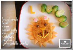 edible fun: Lion