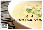 soup: Potato Leek Soup