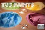 little picasso: Shaving Cream Tub Paint