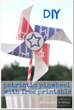 create kiddo: Patriotic Pinwheel & Printable