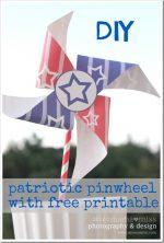 create kiddo: Patriotic Pinwheel & Printable
