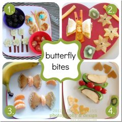 play & eat: butterfly