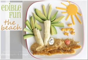 edible fun: The Beach