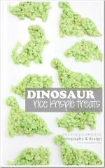 fun eats: Dinosaur Rice Krispie Treats