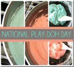 idea collage: Homemade Playdough 3 Ways