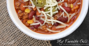 eats: My Favorite Chili
