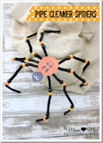 kiddo craft: Pipe Cleaner Spiders