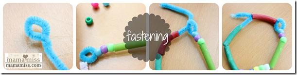 fastening beads