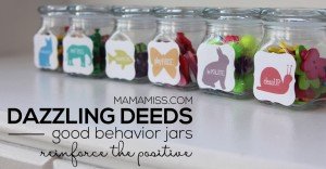 Dazzling Deeds: Good Behavior Jars