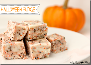 sweets: Halloween Fudge