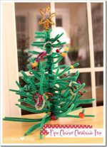 product LOVE: Pipe Cleaner Christmas Tree