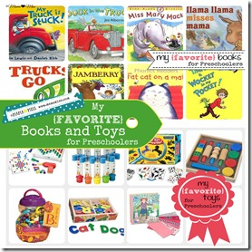 my favorite books and toys for preschoolers {mama♥miss} ©2012