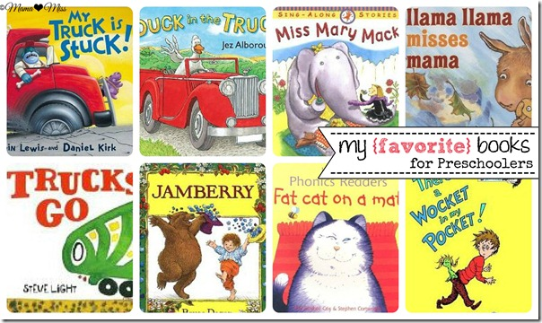 my favorite books for preschoolers {mama♥miss} ©2012