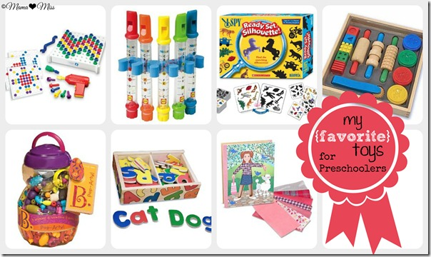 my favorite toys for preschoolers {mama♥miss} ©2012
