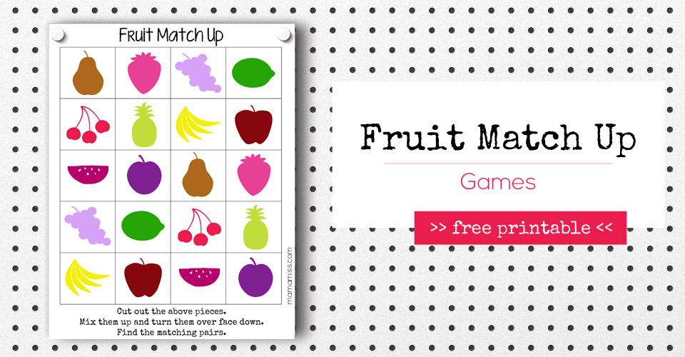 Fruit Match Up Games