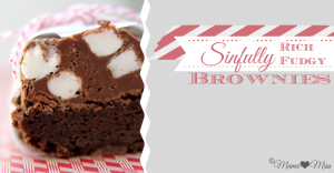 sweets: Sinfully Rich Fudgy Brownies