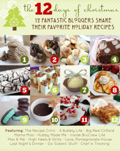 The 12 Days of Christmas Recipes {mama♥miss} ©2012