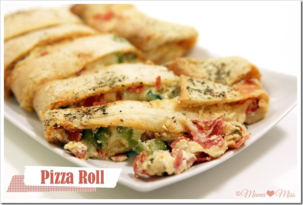 Pizza Roll {mama♥miss} ©2012