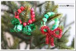 holiday: Beaded Pipe Cleaner Mini Wreaths {The Studio}