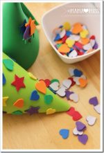 holiday: Foam Christmas Trees {The Studio}