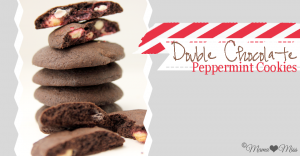 sweets: Double Chocolate Peppermint Cookies