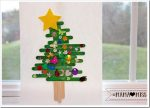 holiday: Popsicle Stick Christmas Tree {The Studio}