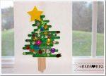 holiday: Popsicle Stick Christmas Tree {The Studio}