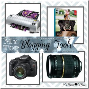 My {Top} Blogging Tools