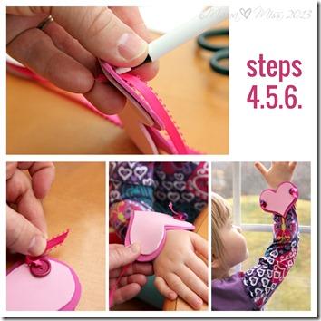 Kid Made Heart Bracelet https://www.mamamiss.com ©2013