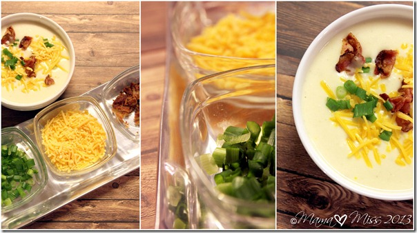 Slow Cooker Baked Potato Soup {mama♥miss} ©2013