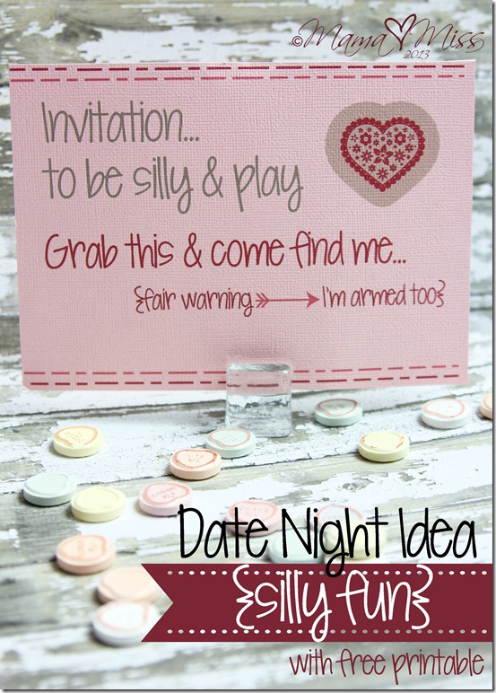 Date Night Idea {silly fun} https://www.mamamiss.com ©2013