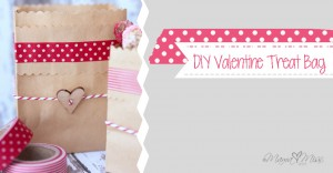 holiday: DIY Valentine Treat Bag