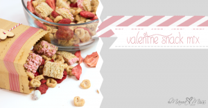 fun eats: Valentine Snack Mix
