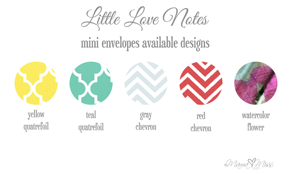 Mini Envelopes - Custom Designed Free Printables http://www.mamamiss.com ©2013