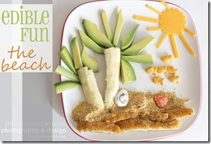 Edible Fun Beach http://www.mamamiss.com ©2013
