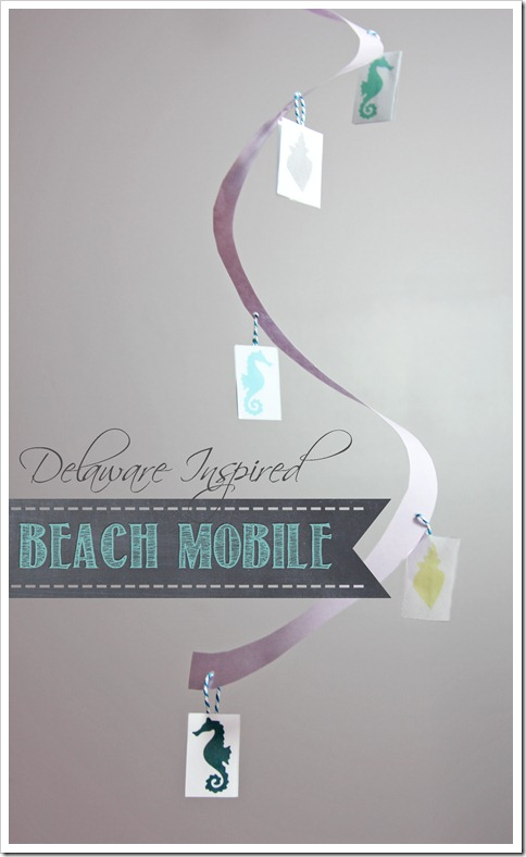Booking Across the USA–Delaware {beach mobile} http://www.mamamiss.com ©2013