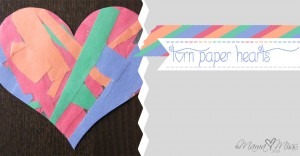 Torn Paper Hearts {the studio} https://www.mamamiss.com ©2013