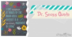 quote art: {Dr. Seuss} nonsense