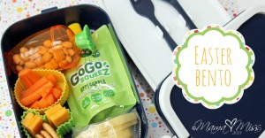 Easter Bento #easter #bento http://www.mamamiss.com ©2013