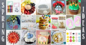 hop into spring: A Spring and Easter Roundup of Fab Ideas #Easter #spring https://www.mamamiss.com ©2013