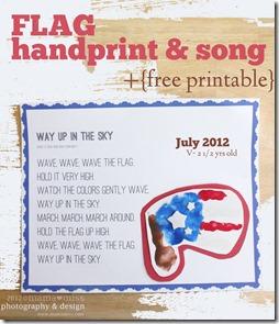 Flag Handprint https://www.mamamiss.com ©2013