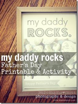 My Daddy Rocks https://www.mamamiss.com ©2013