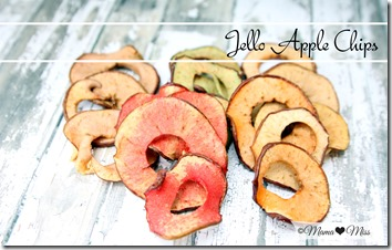 Jello Apple Chips https://www.mamamiss.com ©2013