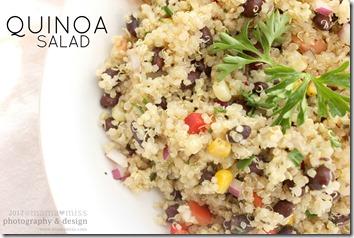 Quinoa Salad #quinoa #salad http://www.mamamiss.com ©2013