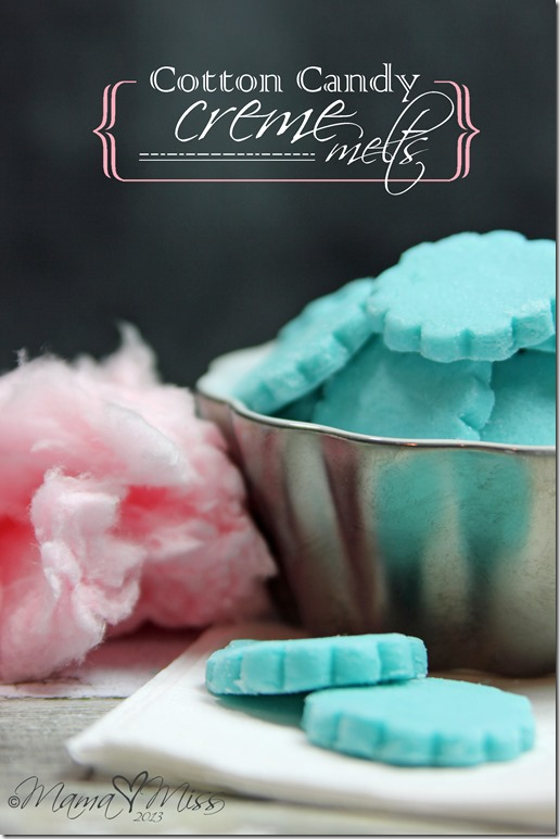 Cotton Candy Creme Melts @mamamissblog #cottoncandy