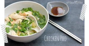 Chicken Pho #chicken #pho http://www.mamamiss.com ©2013