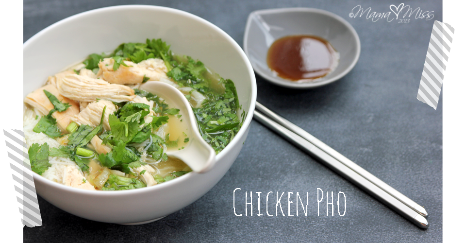 Chicken Pho #chicken #pho https://www.mamamiss.com ©2013