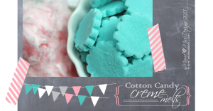 sweets: Cotton Candy Creme Melts